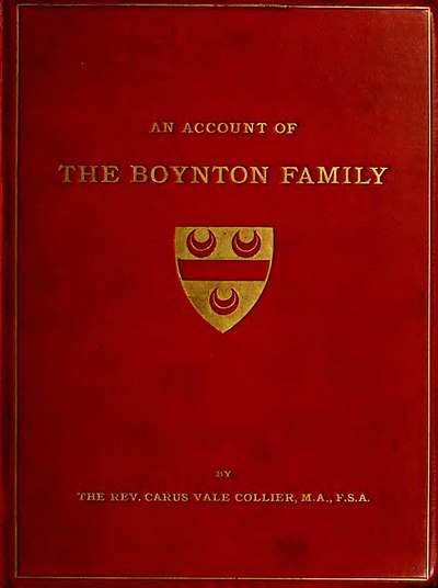 The Boynton family and the family seat of Burton Agnes cover.jpg