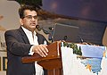 The CEO, NITI Aayog, Shri Amitabh Kant addressing at the inauguration of an Investors' Conference for the Holistic Development of Islands, hosted by the NITI Aayog, in New Delhi on August 10, 2018.JPG