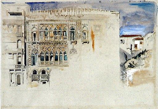 The Casa d Oro Venice Ruskin
