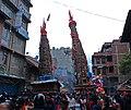 The Chariots of Rato Machchhindranath and Minnath at Lagankhel.jpg