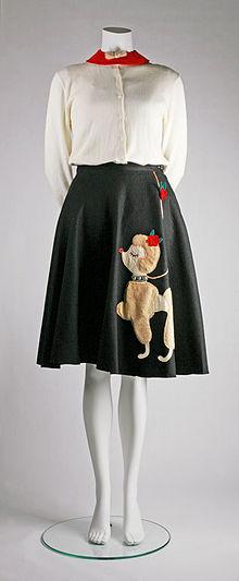 Poodle Skirt Wikipedia The Free Encyclopedia