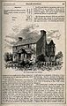 The Cottage Hospital, East Grinstead, Sussex. Wood engraving Wellcome V0012564.jpg