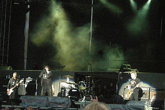The Cult - The Cult performing in 2009.