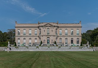 The Elms (Newport, Rhode Island) - The Elms, viewed from its great lawn