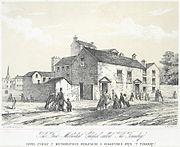 """The First Methodist chapel called """"The Foundry"""" - Capel Cyntaf y Methodistiaid Wesleyaidd a Adnabyddid Wrth """"Y Foundry"""""""