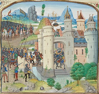 Battle of Calais (1349) - Image: The French attempt to recapture Calais from England (1350)
