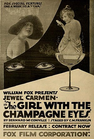 Jewel Carmen - Image: The Girl with the Champagne Eyes