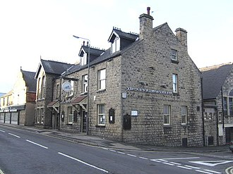 Shirebrook - The Great Northern former-pub, once a frequent social point in Shirebrook