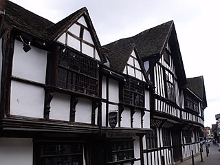 Greyfriars, Worcester Grade I listed building in the United Kingdom