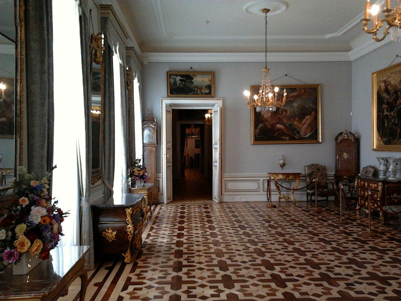 The Hallway of Princess Marshall Lubomirska's Apartments 02.jpg