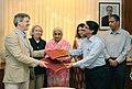 The Joint Secretary, Ministry of Culture, Dr. Venu Vasudevan and the Director, Metropolitan Museum of Art, New York (1).jpg