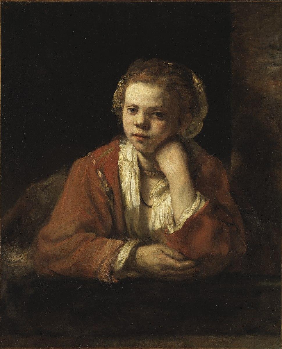 The Kitchen Maid (Rembrandt Harmensz. van Rijn) - Nationalmuseum - 17587
