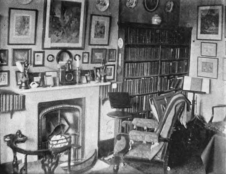 File:The Library of Austin Dobson.jpg