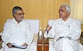 The Minister of State (Independent Charge) for Corporate Affairs and Minority Affairs, Shri Salman Khurshid calls on the Union Minister for Rural Development and Panchayati Raj.jpg
