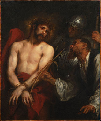 The Mocking of Christ (van Dyck) - Image: The Mocking of Christ (van Dyck)