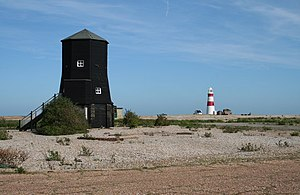 Orford Ness - Image: The Radar Tower, Orfordness geograph.org.uk 287811