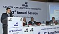 The Secretary, Department of Industrial Policy and Promotion (DIPP), Shri Amitabh Kant addressing at the 53rd Annual Session of Cement Manufacturers' Association, in New Delhi on March 02, 2015.jpg
