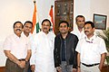 The Singer, Shri A.R. Rahman calling on the Minister of State for Culture (Independent Charge), Tourism (Independent Charge) and Civil Aviation, Dr. Mahesh Sharma, in New Delhi on July 28, 2015 (1).jpg