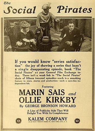 Marin Sais - The Social Pirates (1916)