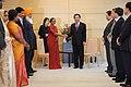 The Speaker, Lok Sabha, Smt. Meira Kumar calls on the Japanese Prime Minister, Mr. Yoshihiko Noda, in Japan on October 04, 2011.jpg