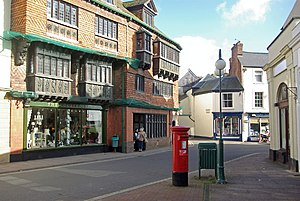 The Square, Wiveliscombe - The Square, facing east