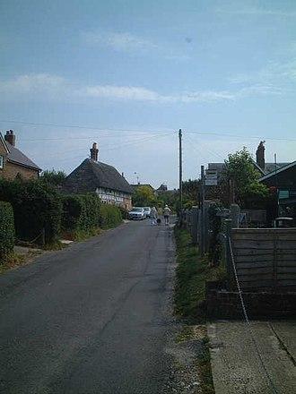 Clapham, West Sussex - Image: The Street, Clapham