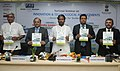 The Union Minister for Textiles, Dr. Kavuru Sambasiva Rao releasing a booklet at the National Seminar on Innovation & Technological Advancements – Growth Mantra for Textile Industry, in New Delhi on August 02, 2013.jpg