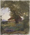 The Verger's House at Tyresö (Richard Bergh) - Nationalmuseum - 19344.tif