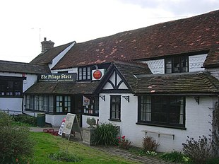 The shopping facility in this very rural parish of Surrey