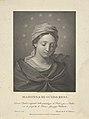 The Virgin in half length looking down, ten stars surrounding her head, after Reni MET DP841771.jpg