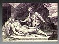 The Virgin laments over the dead Christ. Engraving by R. Sad Wellcome V0034802.jpg