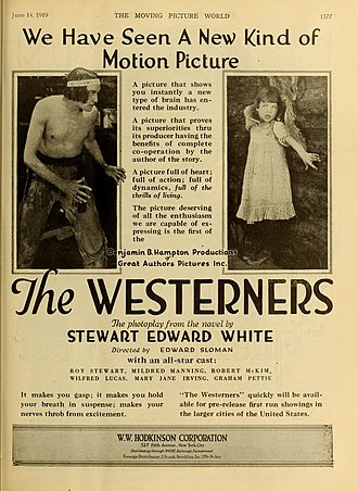 Edward Sloman - The Westerners (1919)