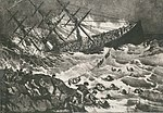 The Wreck of the Atlantic, lithograph, Currier and Ives, 1873.jpg