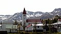 The church in the small community of Siglufjörður, Iceland.jpg