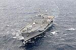 The command ship USS Blue Ridge (LCC 19) transits the South China Sea March 11, 2014 140311-N-GR655-466.jpg