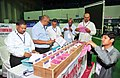 The counting of votes in progress, at a Counting Centre of General Election-2014, at Yousufguda stadium, in Hyderabad on May 16, 2014.jpg