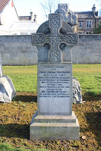James Gordon MacGregor - The grave of James Gordon MacGregor, Morningside Cemetery, Edinburgh