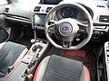 The interior of Subaru WRX STI Type S 2017 year model.jpg