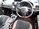 The interior of Subaru WRX STI Type S 2017 year model.jpg