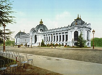 Petit Palais - The Petit Palais in 1900.