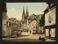 The market street, Chartres, France-LCCN2001697634.tif