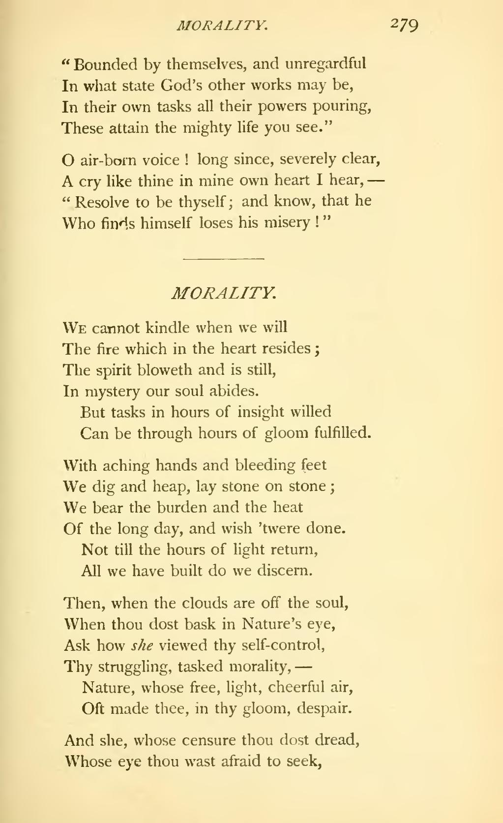 a wish by matthew arnold