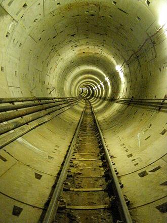 Thessaloniki Metro - Image: Thessaloniki Metro Tunnel 07
