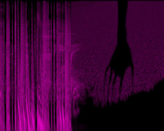 """Year Zero (album) - A spectrogram of """"The Warning"""" off the CD release."""