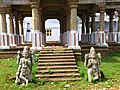 This is place for recreation or Musical concerts in the olden days,statues of God at the entrance..JPG