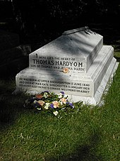 thomas hardy grave of thomas hardy s heart at stinsford parish church