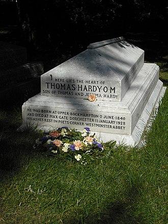 Stinsford - Thomas Hardy's monument
