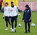 Thomas Mueller Sandro Wagner Jupp Heynckes Training 2018-01-28 FC Bayern Muenchen-1.jpg