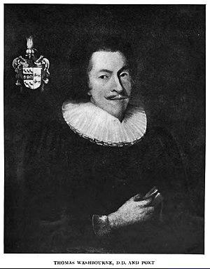 Thomas Washbourne - Rev. Dr. Thomas Washbourne, D.D.