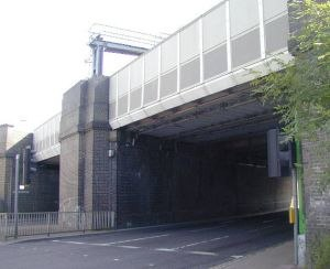 Three Bridges - Rail bridge at Three Bridges Station